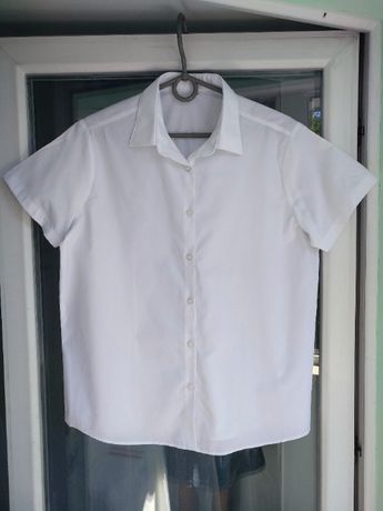 Блузка школьная George р.158-164 девочке 13-14л белая блуза, есть 2шт