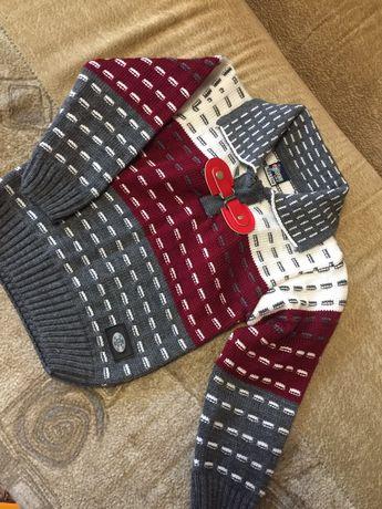 Новый свитер на мальчика 1 годик