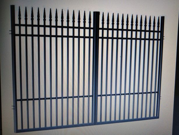 Brama wjazdowa dwuskrzydłowa 350 cm Polargos Portland.