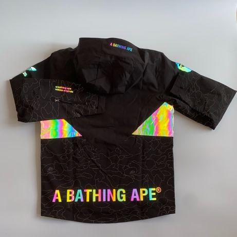 Куртка Adidas x Bape colour reflective