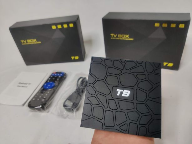 [NOVO] Smart Box TV T9 [4 Gb RAM + 32 Gb ROM] Android 9.0 - 4K