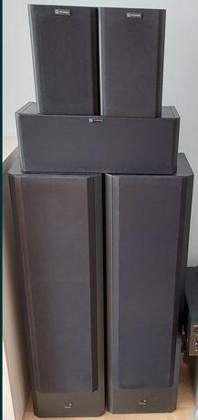 Kino domowe kpl, kolumny Diora Polaris 200 + głośniki tylne i centraln