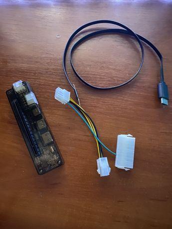 Переходник, адаптер для подключения десктопной видеокарты к ноутбуку