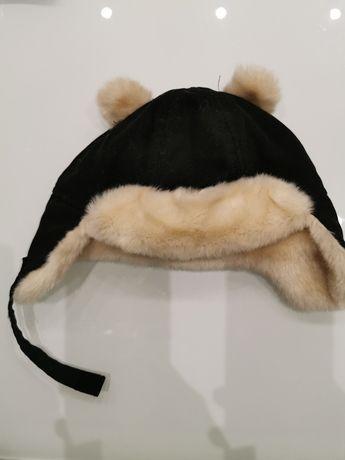 H&M czapka zimowa 74cm