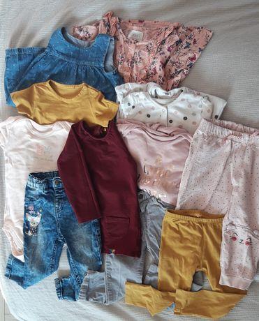 Paczka zadbanych ubrań dla dziewczynki - 86. PROMOCJA TYLKO NA WEEKEND