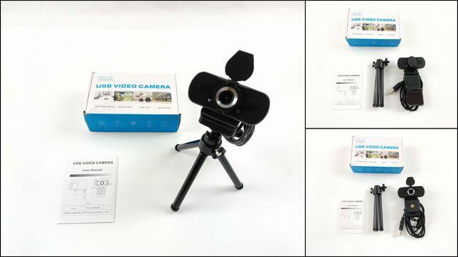 Kamerka Internetowa - Tropro 1080P Full HD z Mikrofonem + Statyw
