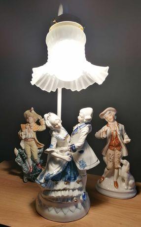 Lampa porcelanową ładna dekoracja