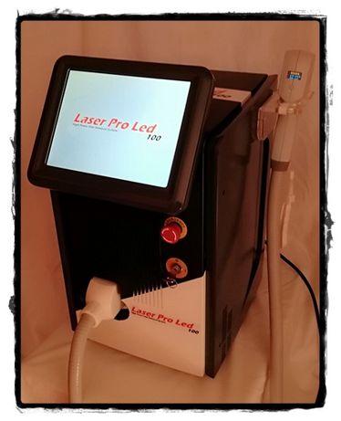 LASER DIODO LED (780nm a 850nm) -Depilação eficaz!