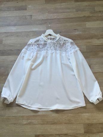 elegancka biała bluzeczka rozmiar M