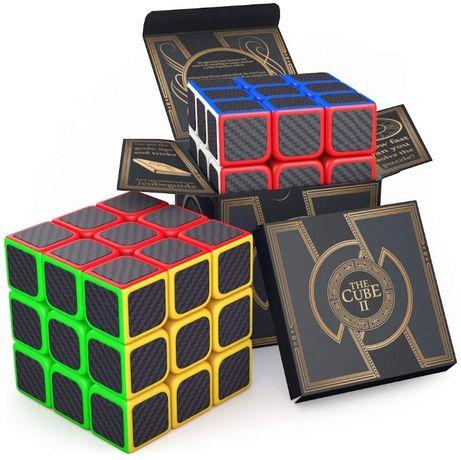 Kostka Rubika do gry Logiczna 3x3x3 Cube II Szybka Speed Carbon