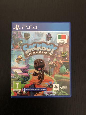 Sackboy PS4 C/ Selo IGAC