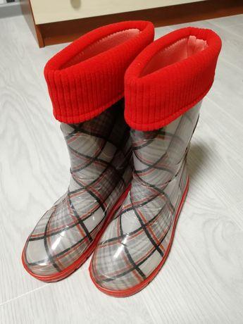 Нові! Гумові чоботи, резиновые сапоги новые