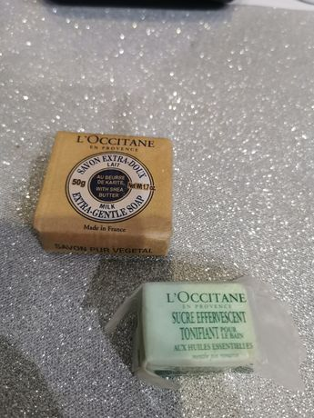 Zestaw mydło i kostka do kąpieli L'Occitane