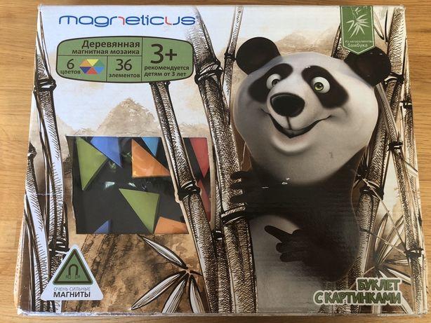 Магнитная игра-мозаика, пазл 3+