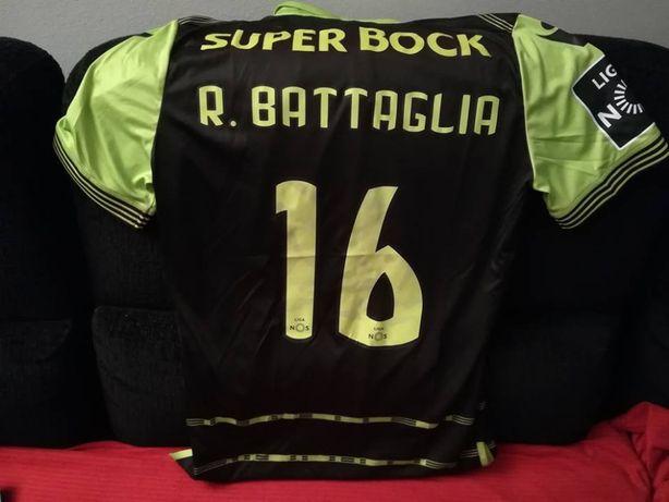 Camisola Oficial do Sporting (Utilizada no jogo)