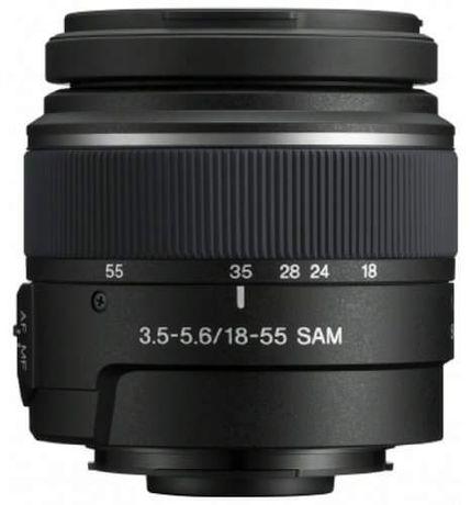 NOWY obiektyw Sony DT 18-55mm f/3.5-5.6 SAM (SAL1855)