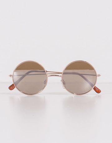 круглые солнцезащитные очки pull&bear