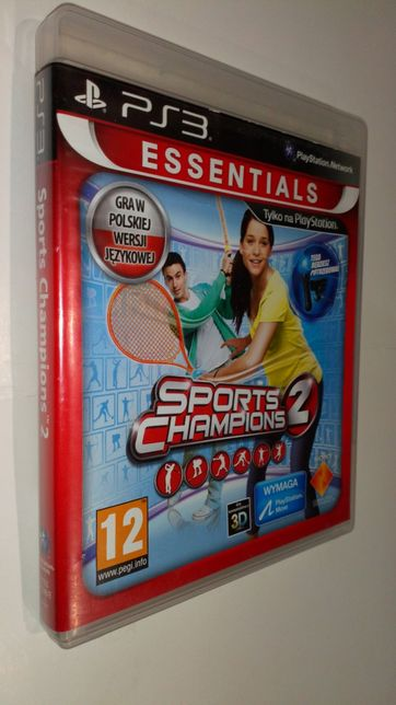 Gra PS3 Sports Champions 2 II PL gry PlayStation 3 move Edition PL