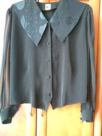 Czarna elegancka bluzeczka