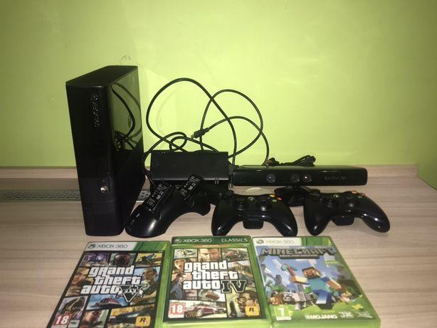 Xbox 360 slim 500gb+duzo akcesorii