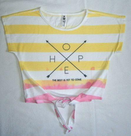 Стильный топик для маленькой модницы топ футболка майка Tamnoon блузка