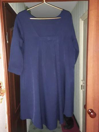 Платье батал 56 разм. Отлично скроет все недостатки фигуры, можно и бе