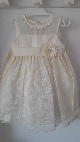 Piękna firmowa suknia princess r. 2 lata