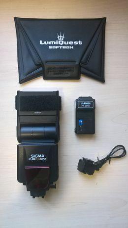 Фотовспышка SIGMA EF-500 DS SUPER под SONY