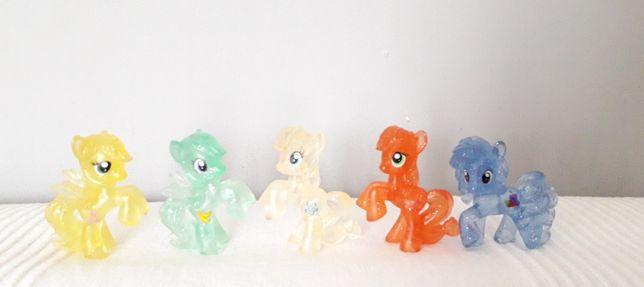 My Little Pony błyszczace koniki