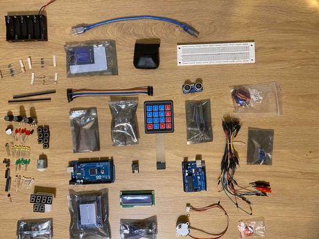Arduino Mega Starter Kit + Arduino Uno в подарок