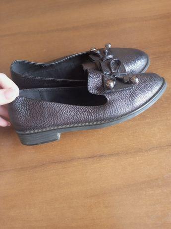 Туфли - лофферы для девочки