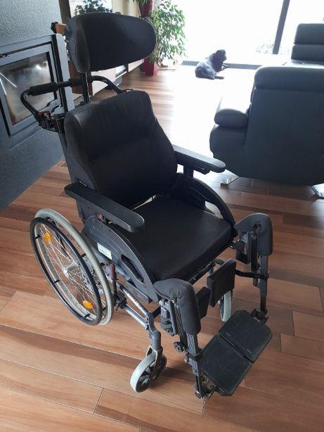 Wózek inwalidzki stabilizujący plecy i głowę, Netti III (używany)