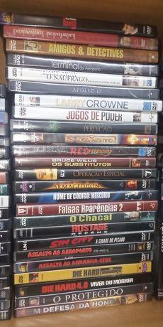 Dvd vários Bruce Willis, Tom Hanks, Cuck Norris, etc.