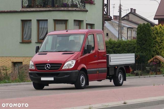 Mercedes-Benz SPRINTER  2,2 CDI*Doka*Brygadówka*7 Osób + Skrzynia*Elektryka*Hak*Jak z Fabryki