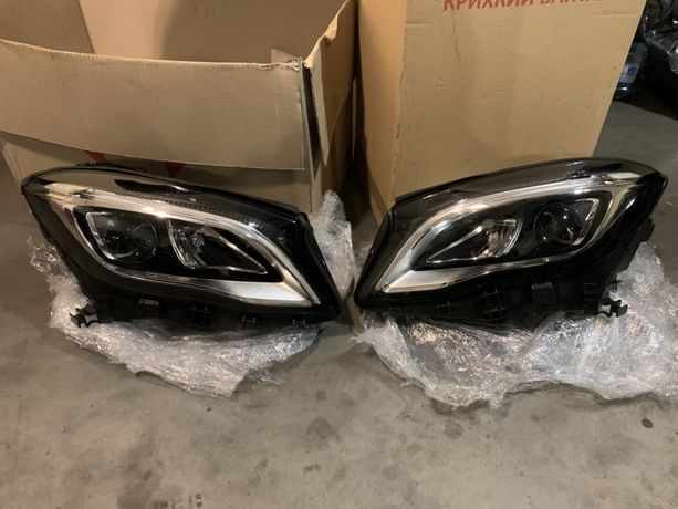 Фары Mercedes GLA 2019 w156 lift рестайлинг