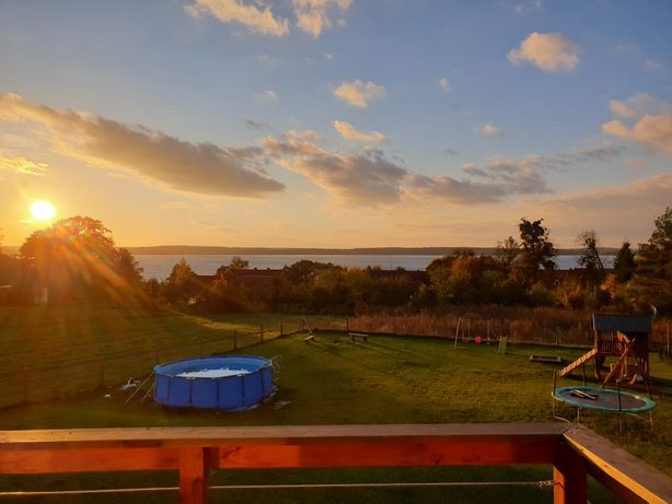 Nocleg Domek Kominek 3 Sypialnie Sauna WiFi  Jezioro 8os wolny weekend