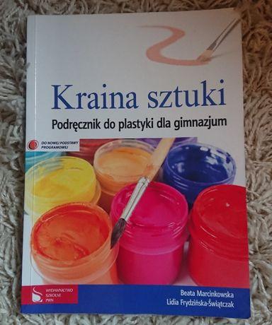 Kraina sztuki podręcznik do plastyki PWN-jak nowa-możliwy odbiór osob.