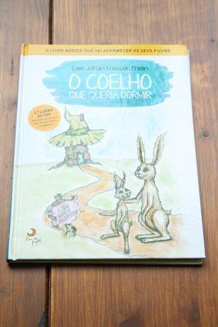 """""""O Coelho que queria dormir"""" de Carl-Johan Forssén Ehrlin"""