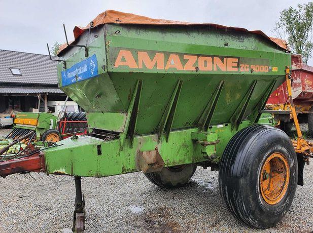 Rozsiewacz nawozu do wapna- AMAZONE ZG- 5000-ciągany