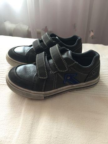 Туфли-макасины для мальчика 30р