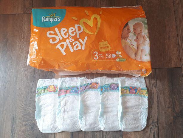 Pieluchy PAMPERS Sleep&Play 17 sztuk + 3 sztuki DADA