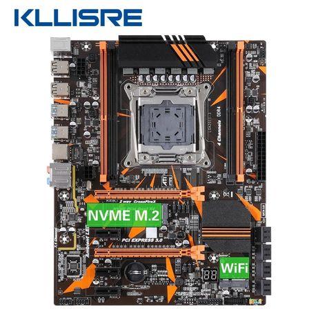 Комплект,сокет 2011-v3,Kllisre X99,Xeon E5 2630L V3, 16г ОЗУ DDR4.