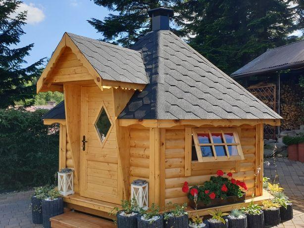 Altana 4x4 domek z grillem 4x4 domek grillowy 4x4 altany 4x4 grill