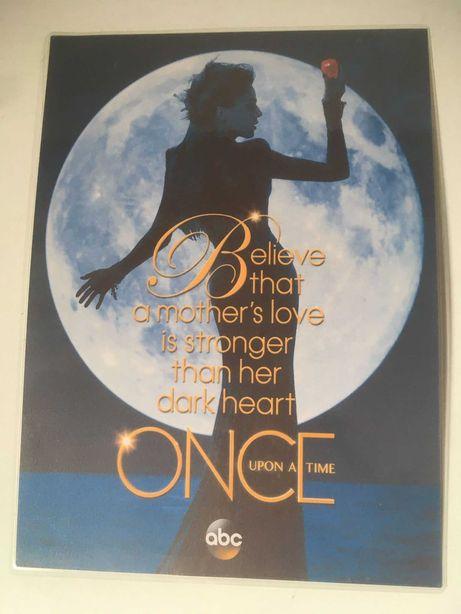Poster A4 Lana Parrilla / Evil Queen Cartolina - Plastificado