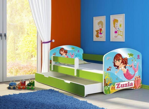 Łóżko, łóżeczko dziecięce Zielone 160x80