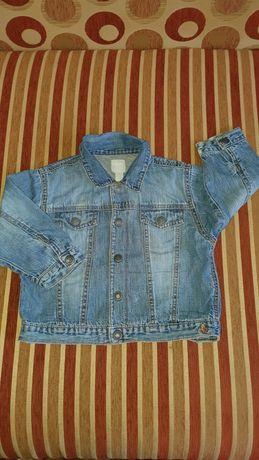 Джинсовая курточка 1,5-2годика