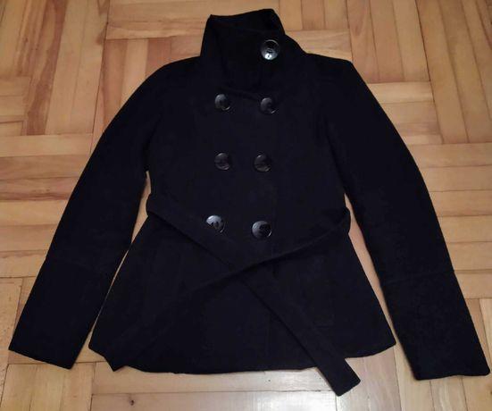 Płaszcz damski, czarny - rozmiar uniwersalny