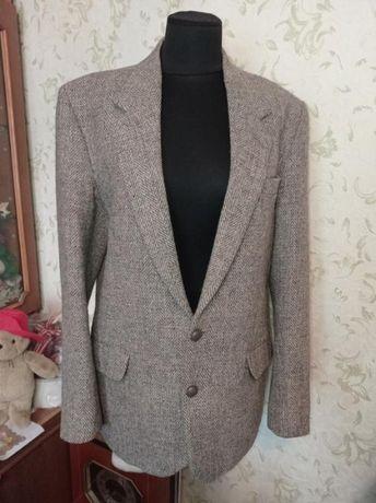 Шикарный пиджак harris tweed dunn & co винтаж