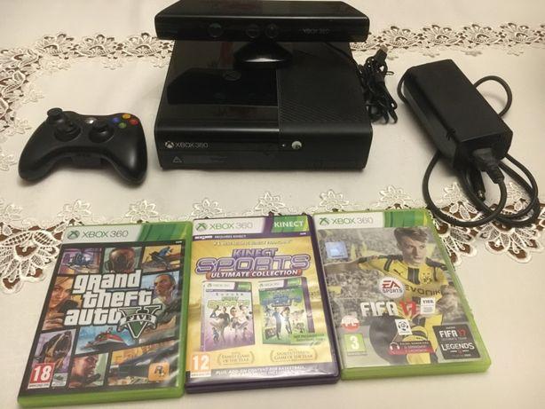 Xbox 360 + Kinect + Gta 5 + Fifa 17