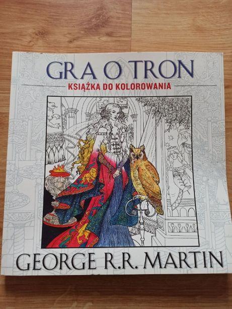 Gra o tron - kolorowanka dla dorosłych